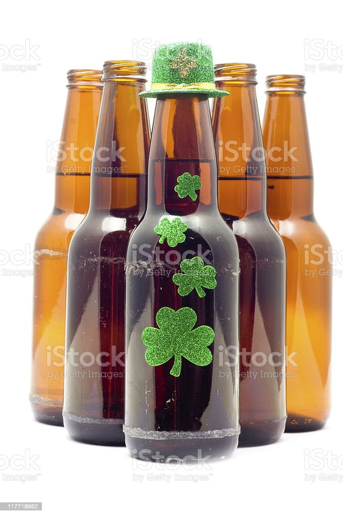 St. Patrick's Day Beer royalty-free stock photo
