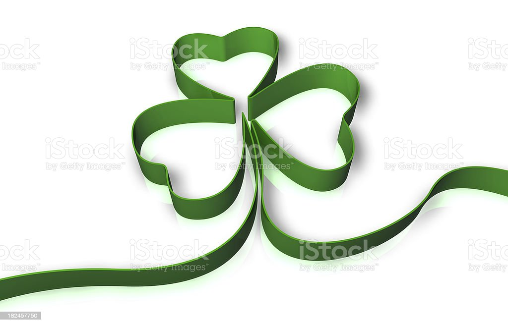 St. Patrick's Day Clover royalty-free stock photo