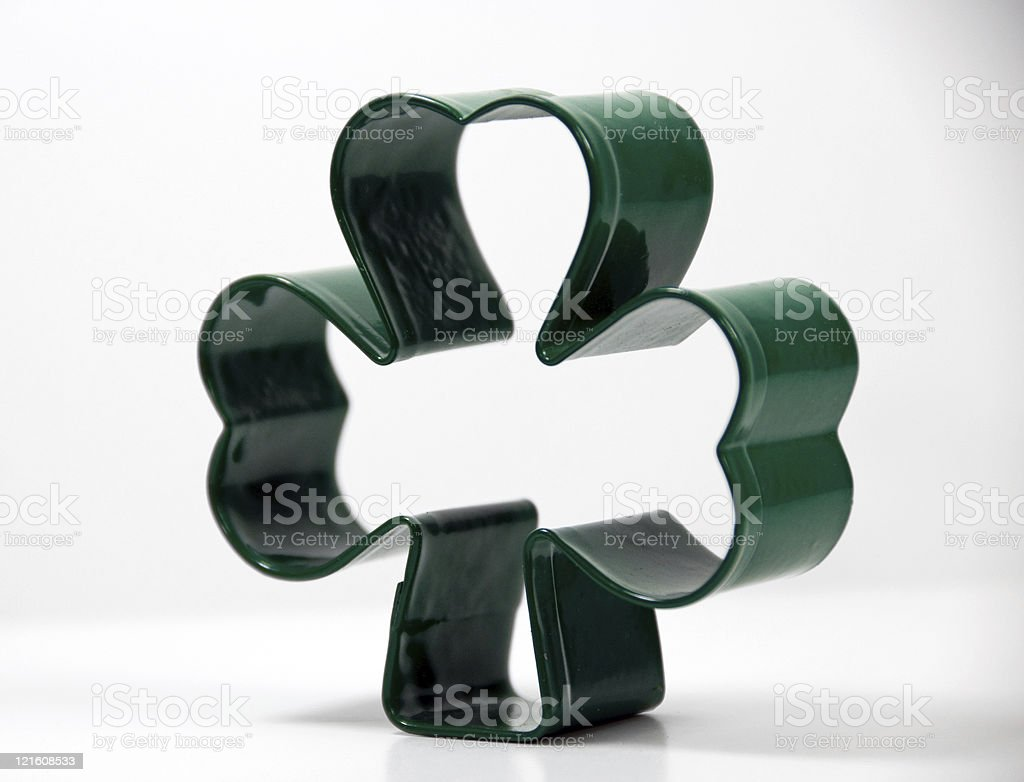 St, Patrick's Day Cookie Cutter stock photo