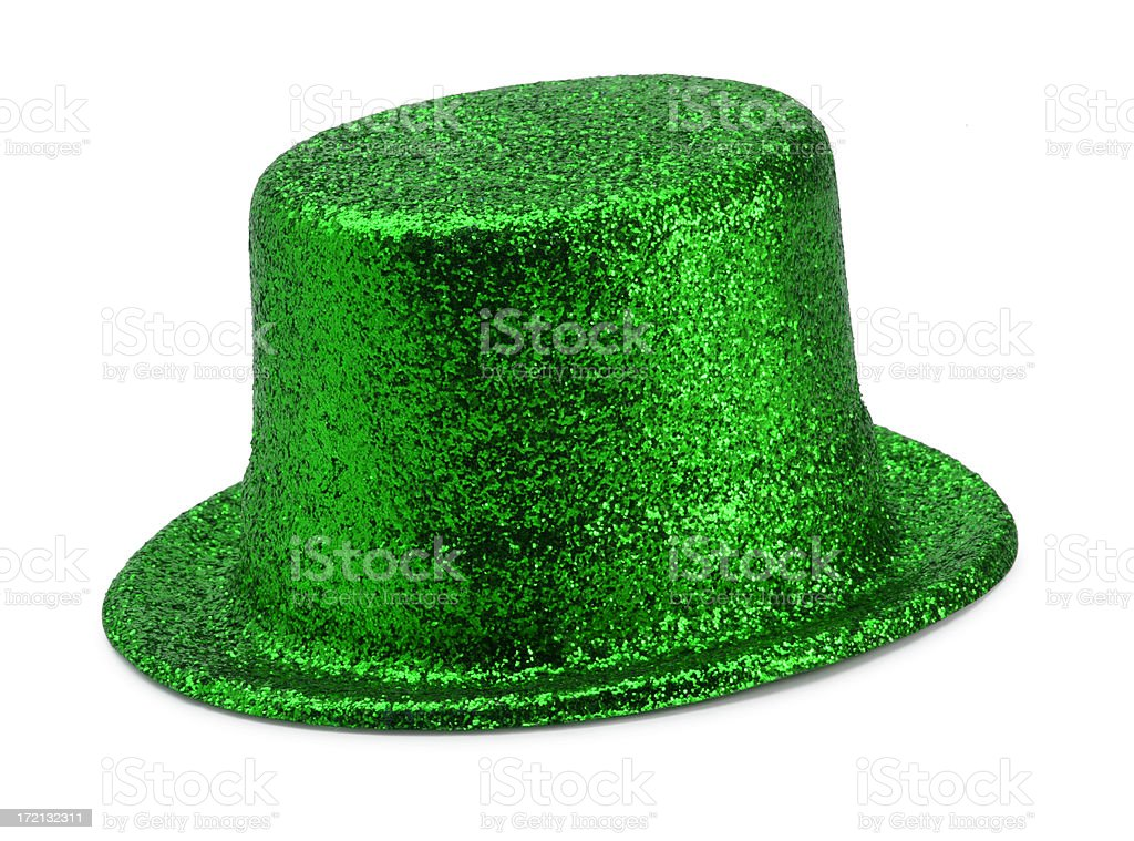 St. Patrick's Day Hat royalty-free stock photo