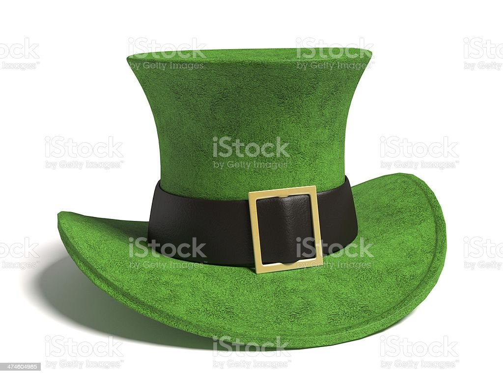 St Patrick's Day Hat stock photo