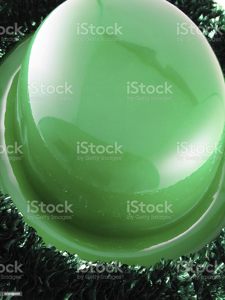 St Patrick's Day, Irish Culture Hat stock photo