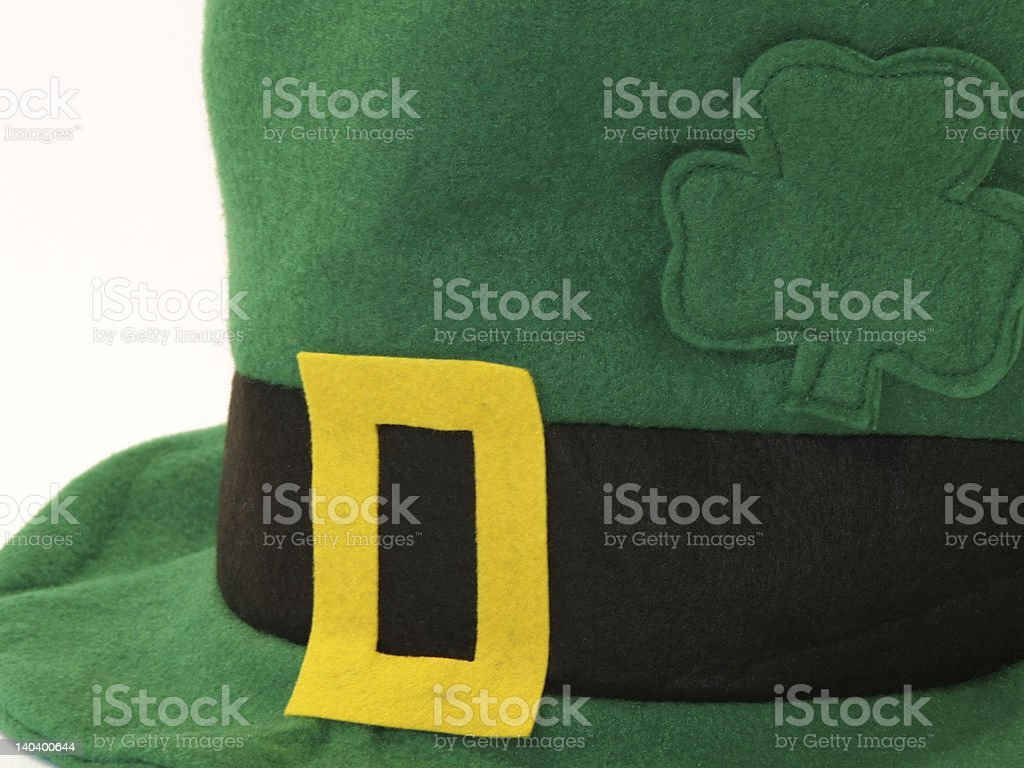 St Patricks Day leprechaun hat stock photo