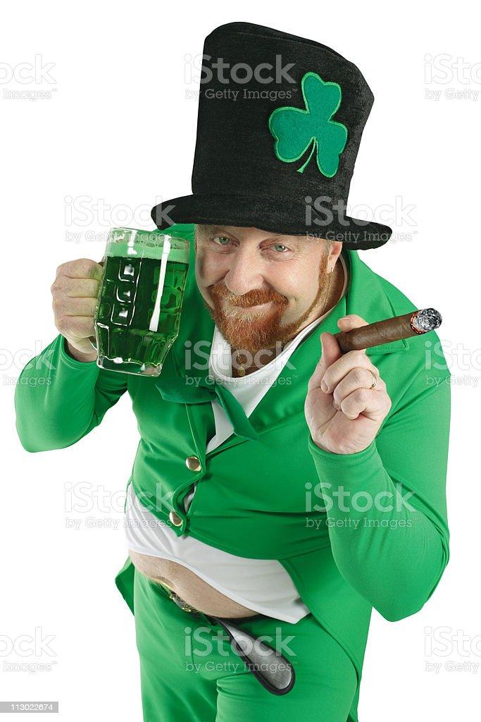 St. Patricks Day Leprechaun stock photo