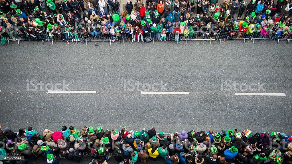 St. Patrick's Day Parade stock photo