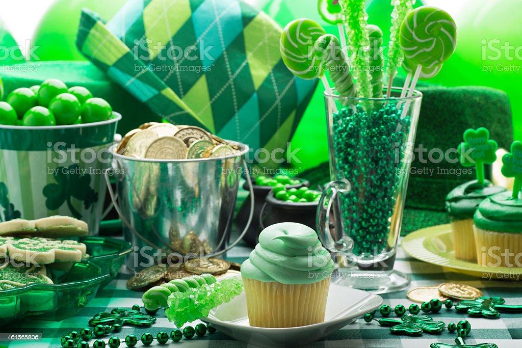 St. Patricks Day Party stock photo