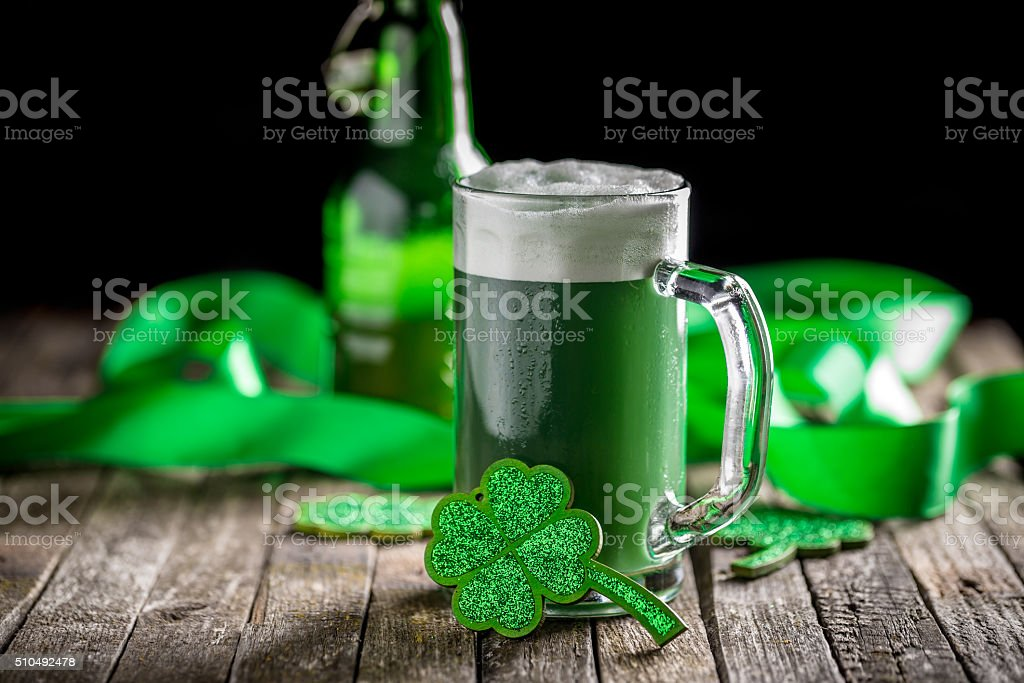 St Patrick's Day stock photo