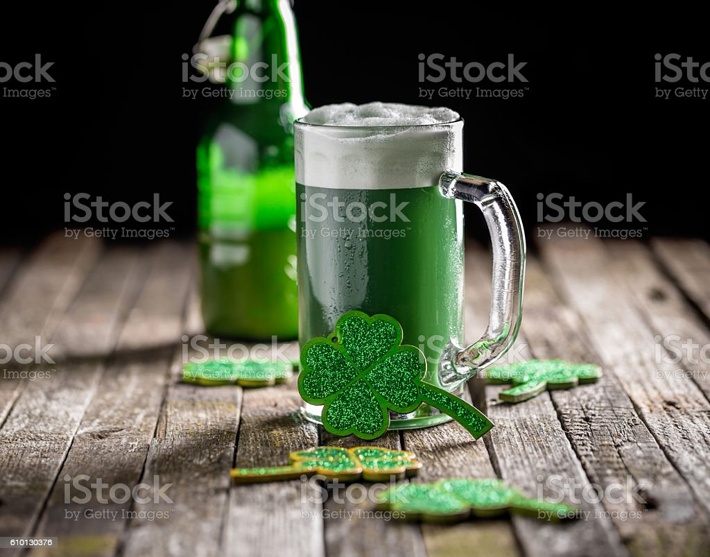 St. Patrick's day stock photo