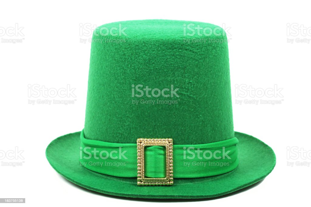 St Patrick's Day Top Hat stock photo