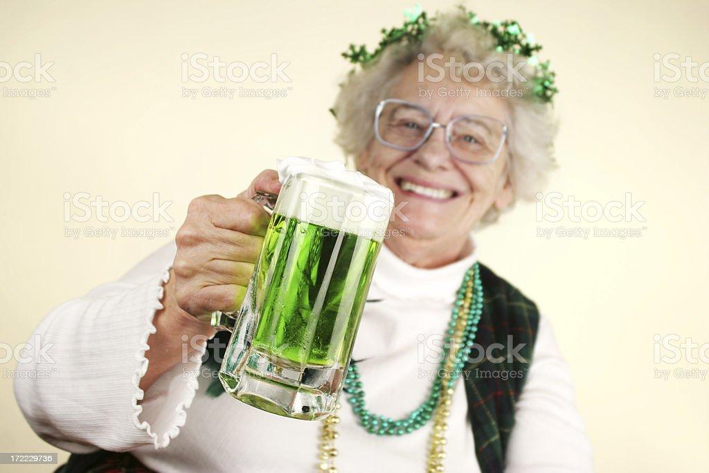 St. Patricks Series royalty-free stock photo