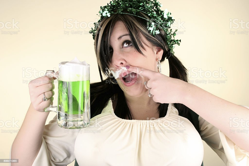 St  Patricks Series royalty-free stock photo