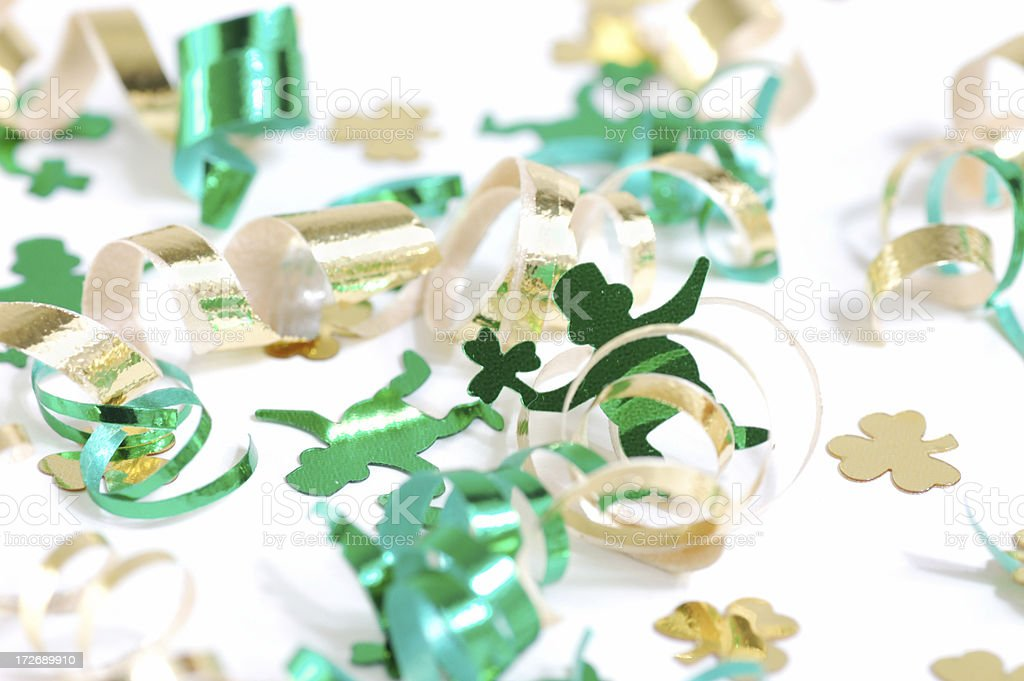 St Patty's Party stock photo
