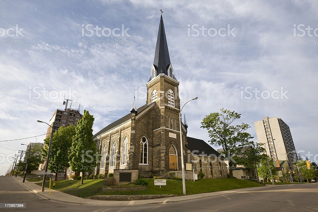 St. Paul Church Kitchener stock photo