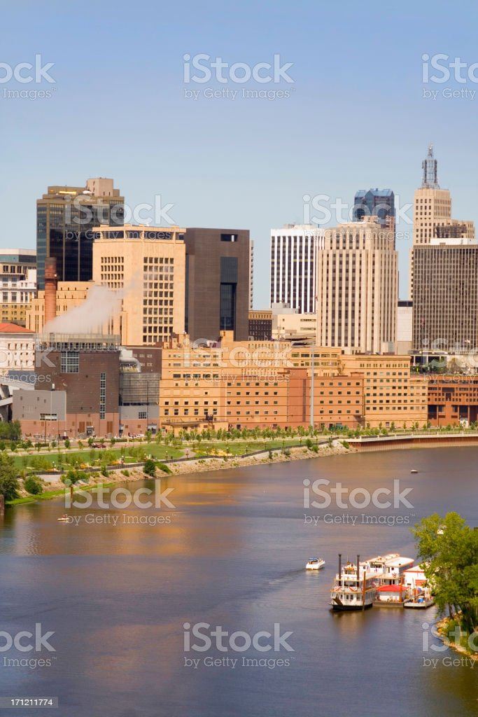 St. Paul Downtown royalty-free stock photo