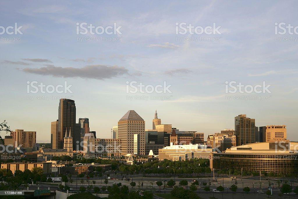 St. Paul, Minnesota royalty-free stock photo