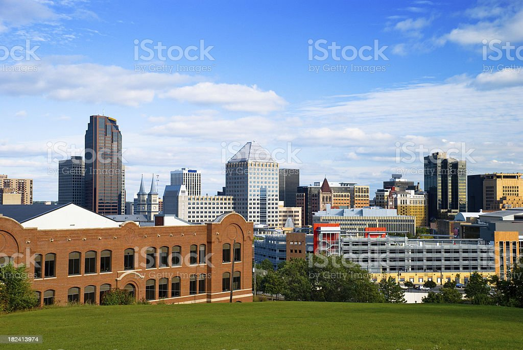St. Paul, MN skyline stock photo