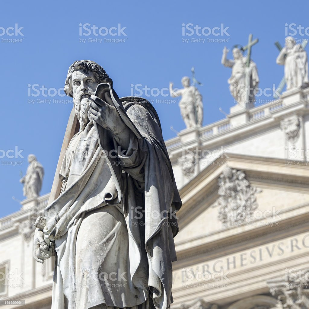 St Paul royalty-free stock photo