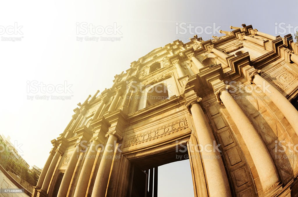 St. Paul Ruins royalty-free stock photo