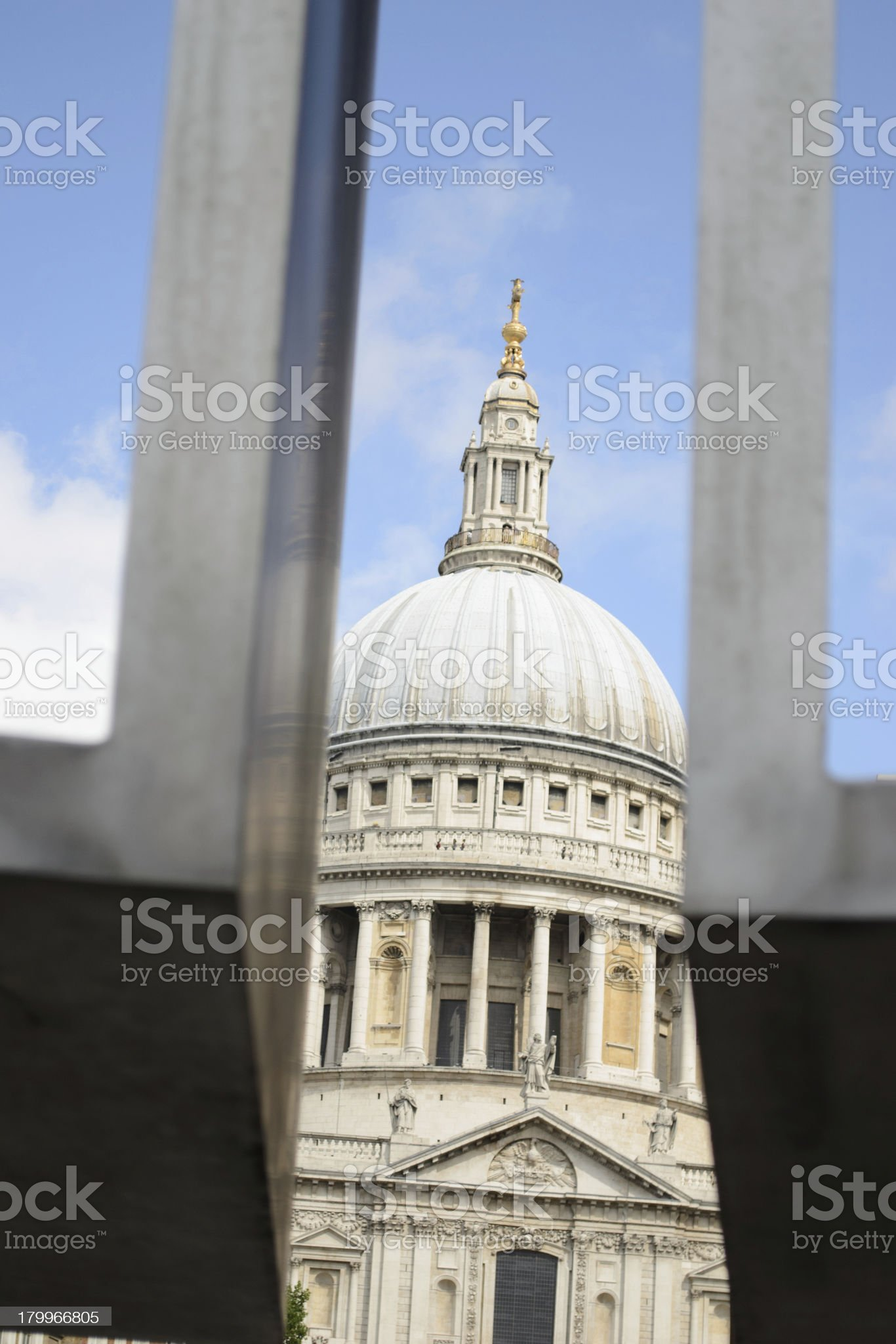 St. paul's cathedral in London royalty-free stock photo