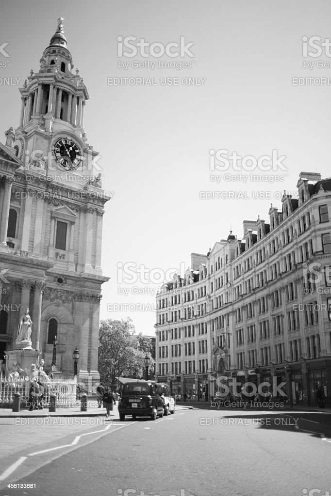 St. Paul's Cathedral, London stock photo