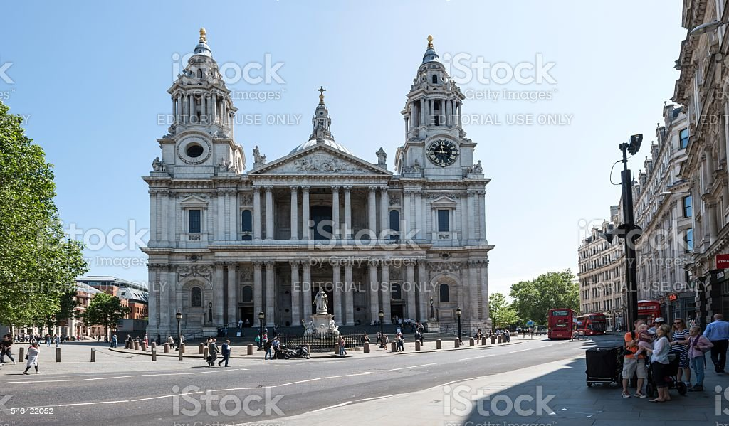 St Paul's Cathedral - London stock photo