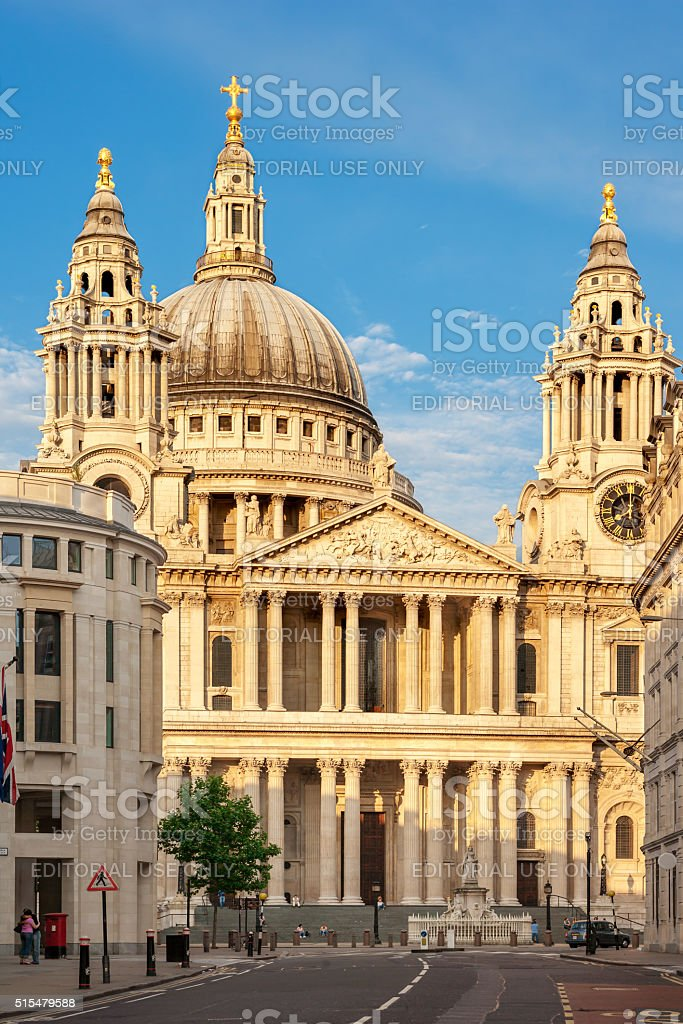 St. Paul's Cathedral, London, UK stock photo