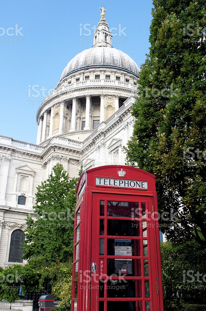 St. Pauls Cathedral royalty-free stock photo