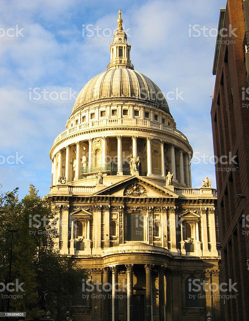 St Pauls Cathedral royalty-free stock photo