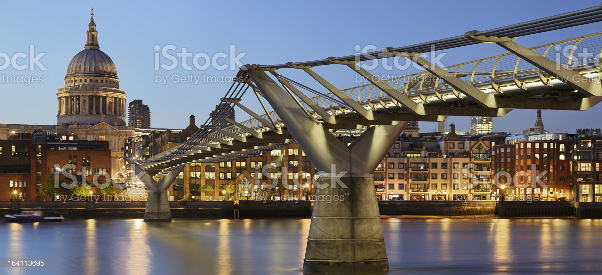 St. Paul's Cathedral royalty-free stock photo