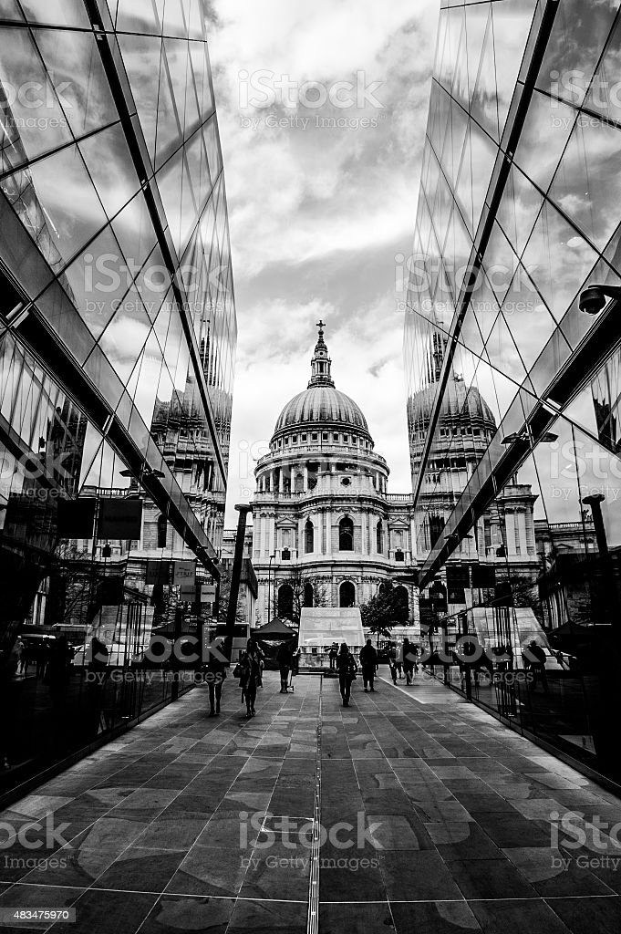 St' Paul's Cathedral stock photo