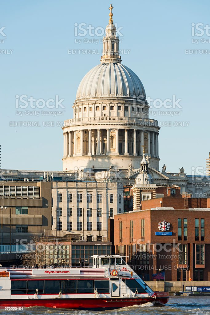 St Paul's Cathedral stock photo