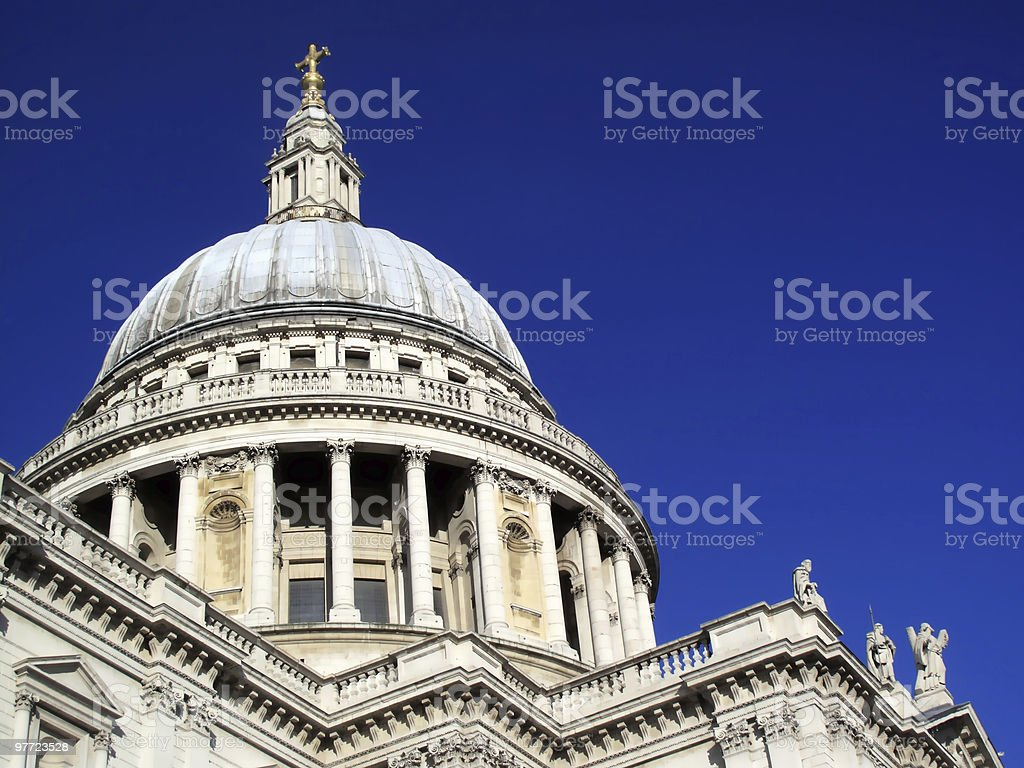St Paul's Cathedral royalty-free stock photo