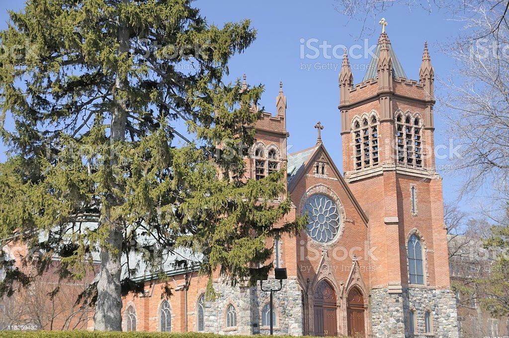 St. Paul's Church, Grosse Pointe stock photo