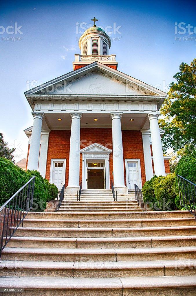 St Paul's Memorial Church stock photo