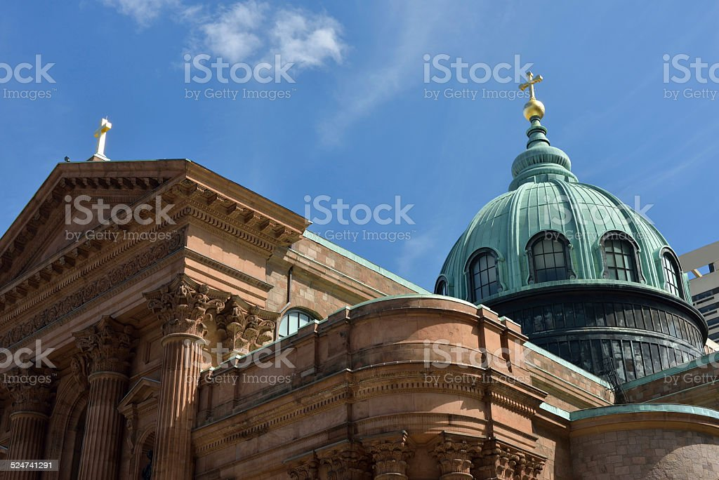 St Peter and Paul Basilica in Philadelphia stock photo