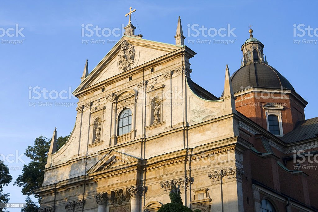 St. Peter and Paul Church royalty-free stock photo