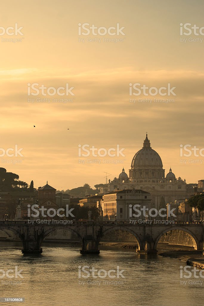 St Peter Chatedral royalty-free stock photo