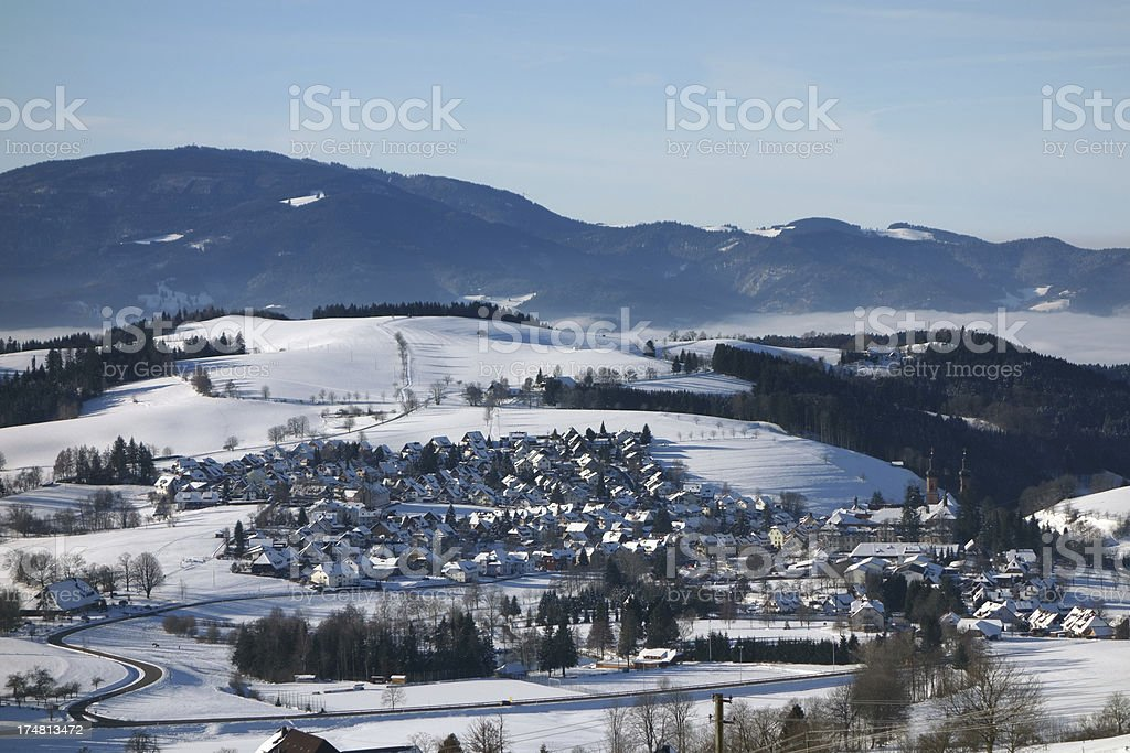 St Peter in the Black Forest royalty-free stock photo