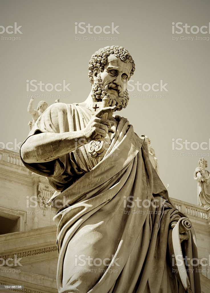 St. Peter royalty-free stock photo