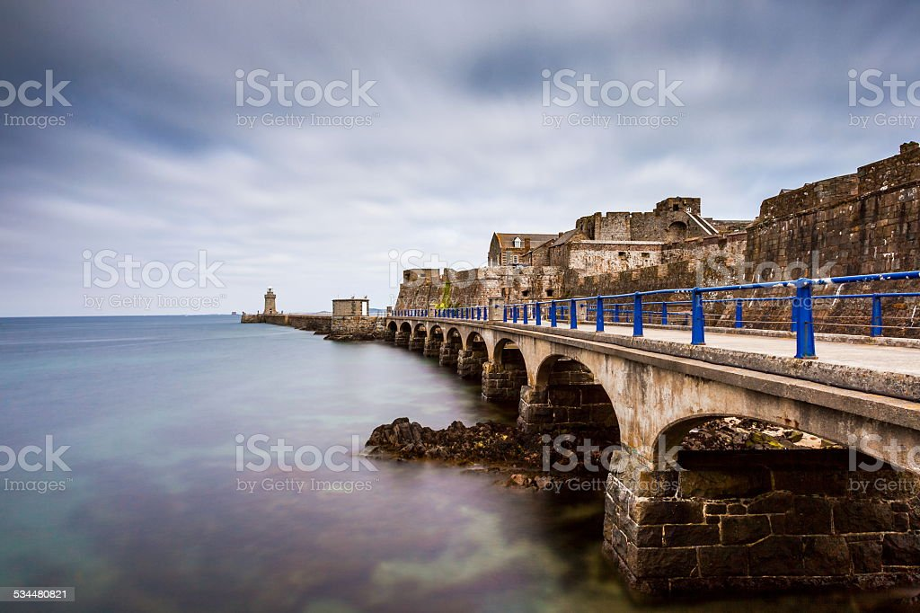 St Peter Port, Guernsey stock photo