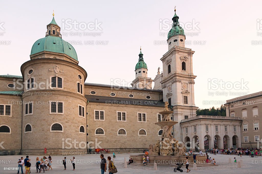 St. Peter'€™s Abbey stock photo