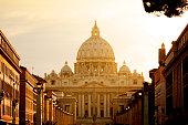St. Peter's Basilica In Vatican