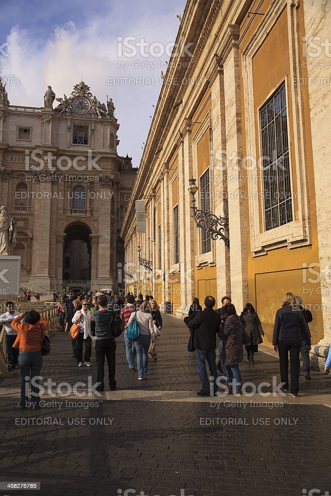 St. Peter's Basilica royalty-free stock photo