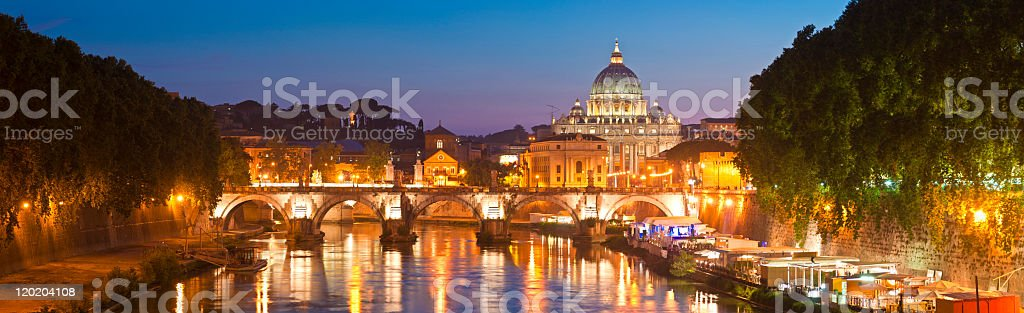 St Peter's Basilica, Vatican City, Rome royalty-free stock photo