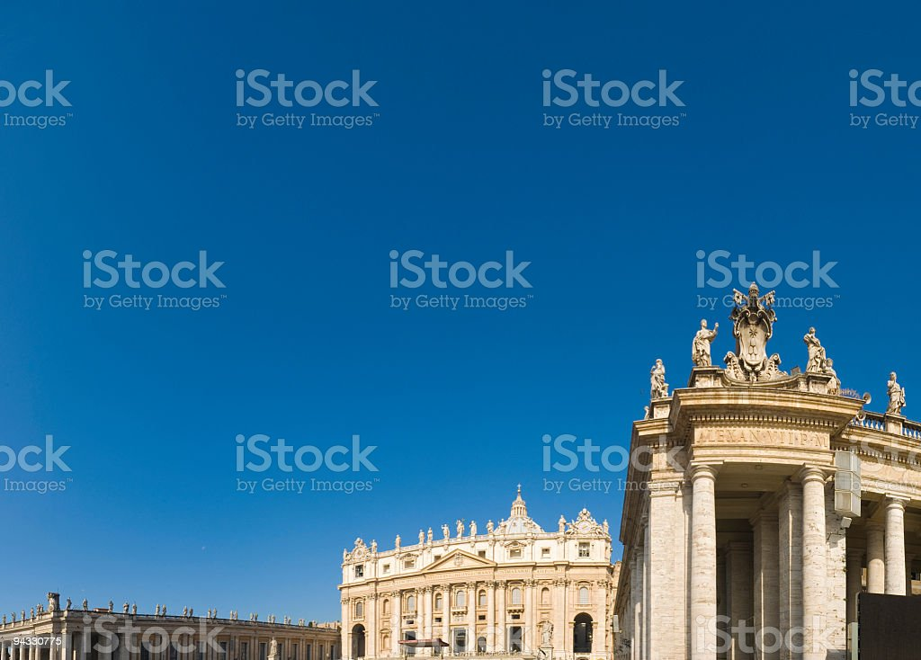 St. Peter's Basilica, Vatican, Rome stock photo
