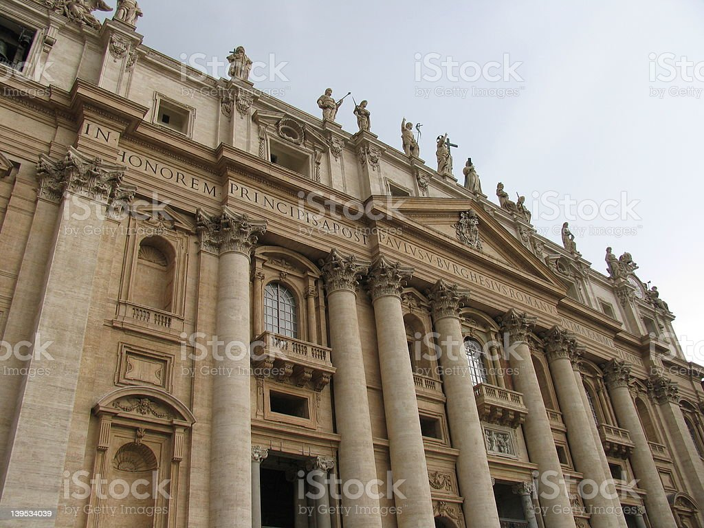 St Peter's cathedral royalty-free stock photo