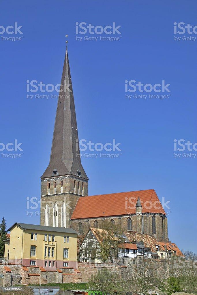 Petrikirche stock photo