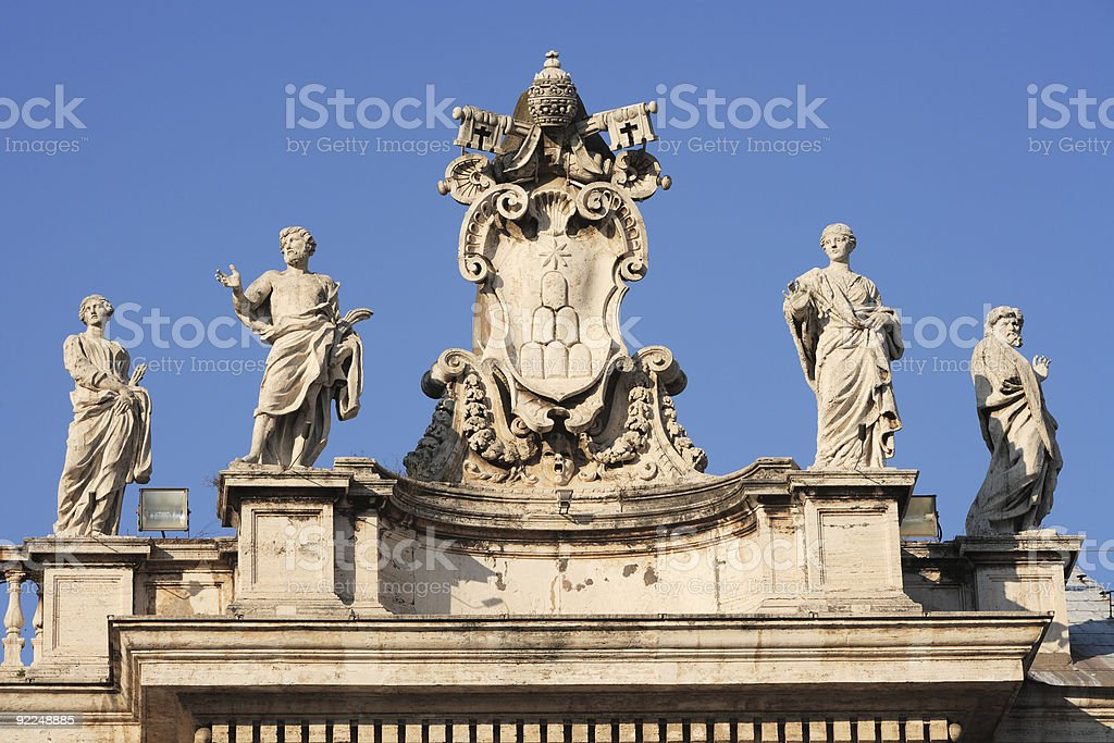 St. Peter's Rome royalty-free stock photo