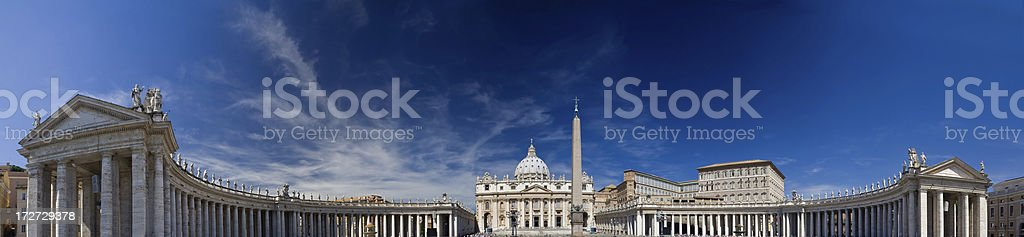 St Peter's Square royalty-free stock photo