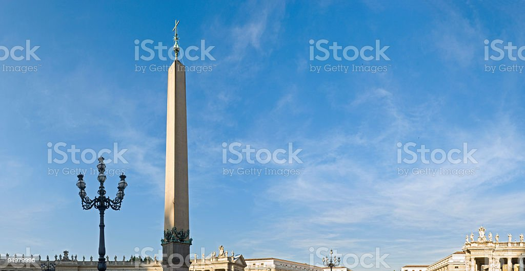 St Peter's Square, Rome stock photo